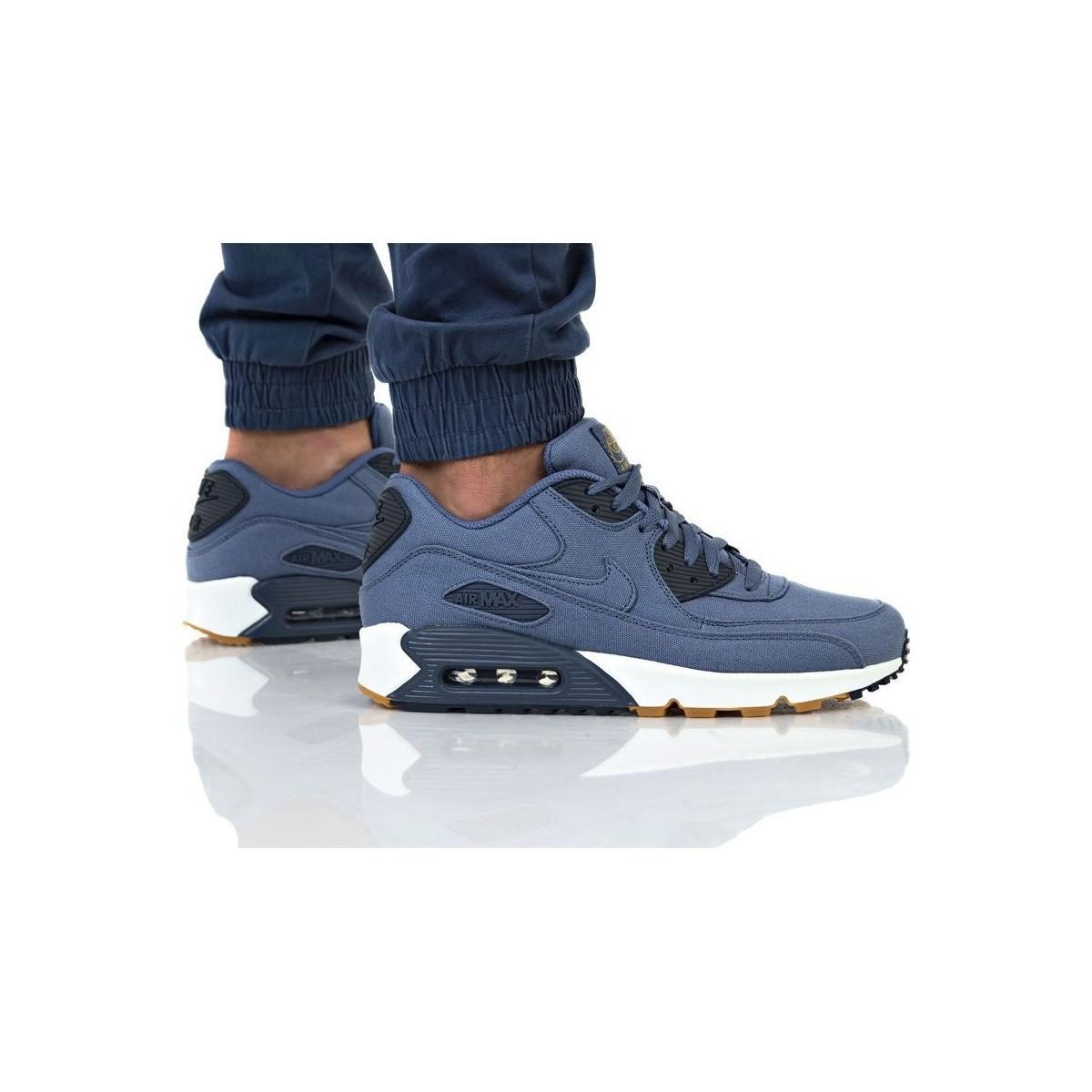 Air Max 90 Txt hommes Chaussures en Bleu Nike pour homme en ...