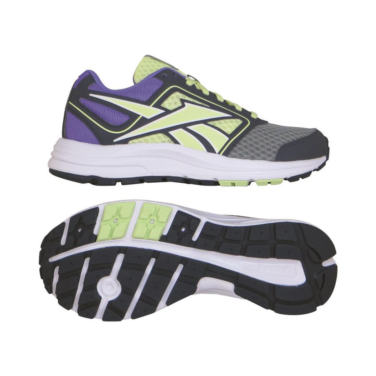 Reebok Zone Cushrun Running Women's Running Trainers In Purple for Men
