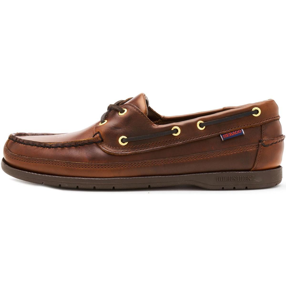 7e954e358d431 Tap to visit site. Sebago - Schooner Fgl Waxed Leather Boat Deck Shoes ...