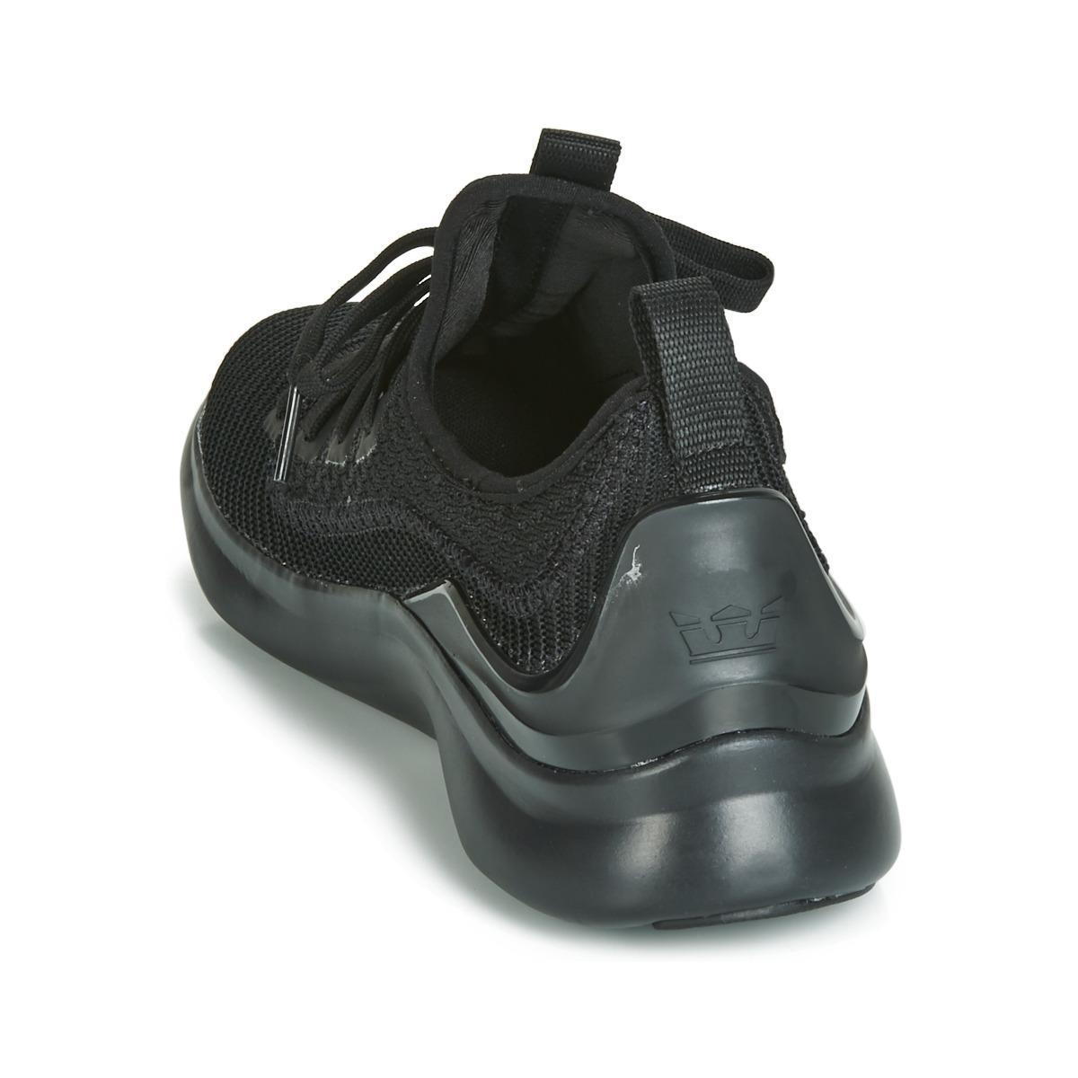 Supra Lage Sneakers Factor in het Zwart voor heren