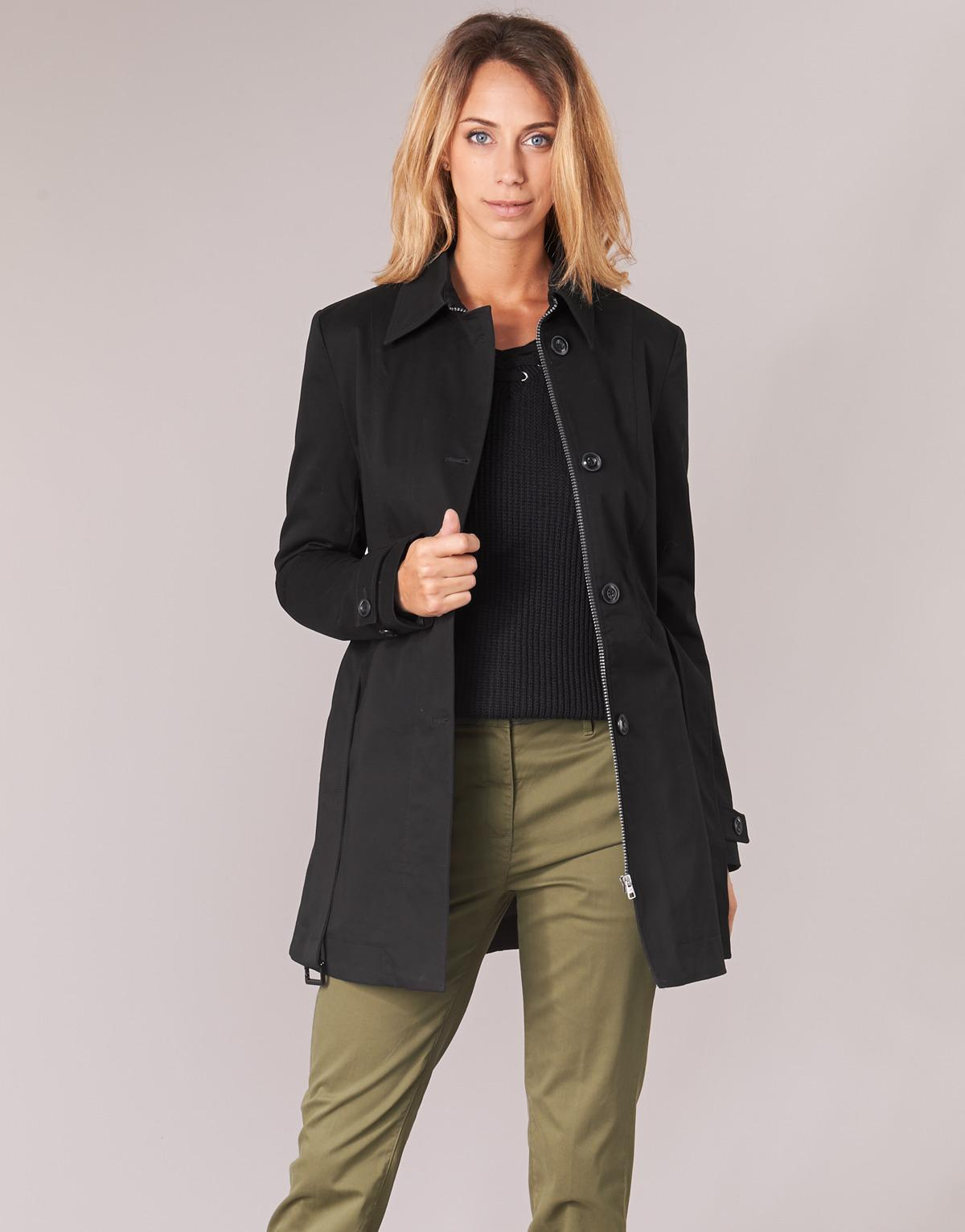 5d80a610debd4c g-star-raw-black-Minor-Slim-Trench-Womens-Trench-Coat-In-Black.jpeg