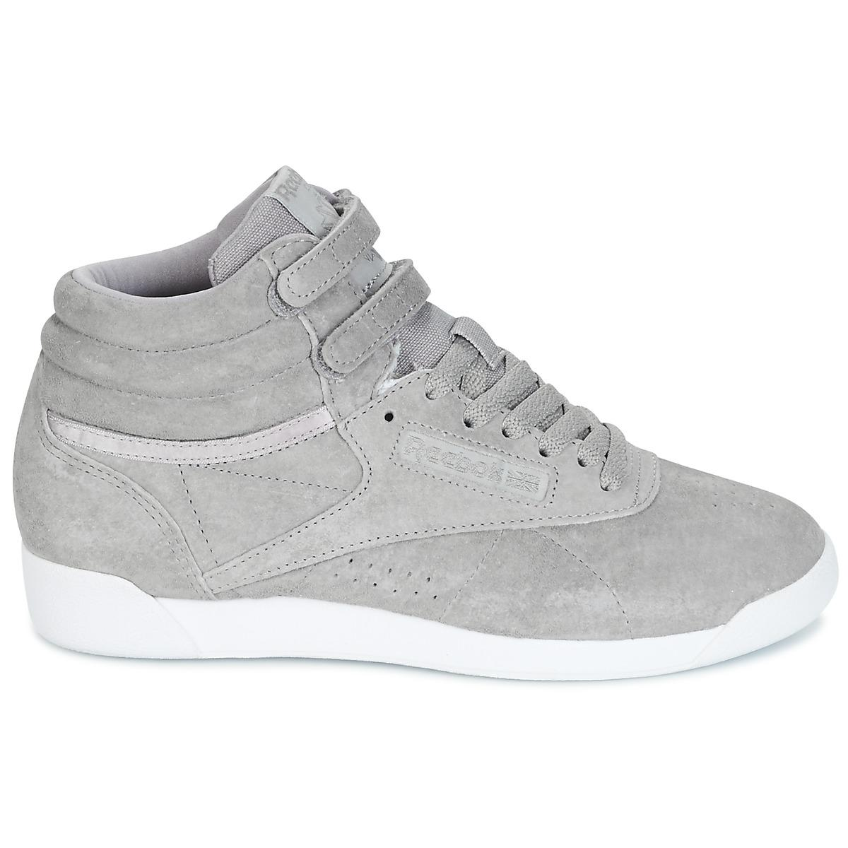 2c4950f35be Reebok F s Hi Nbk Shoes (high-top Trainers) in Gray - Lyst