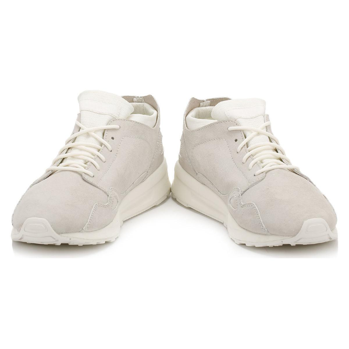 Le Coq Sportif Suede Womens White Marshmallow Lcs R Flow Trainers Women's In White for Men