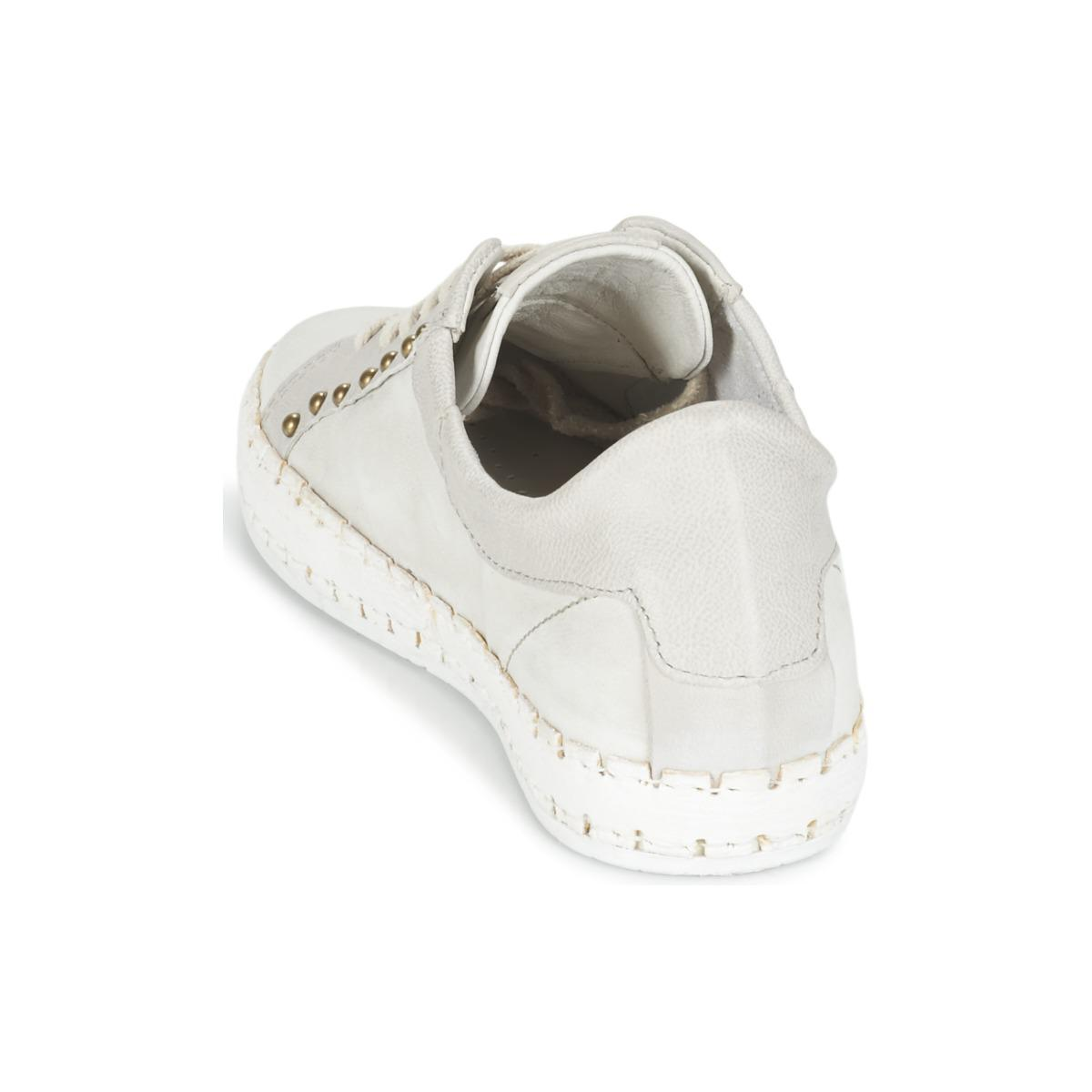 A.s.98 Leather Blink Women's Shoes (trainers) In Grey in Grey