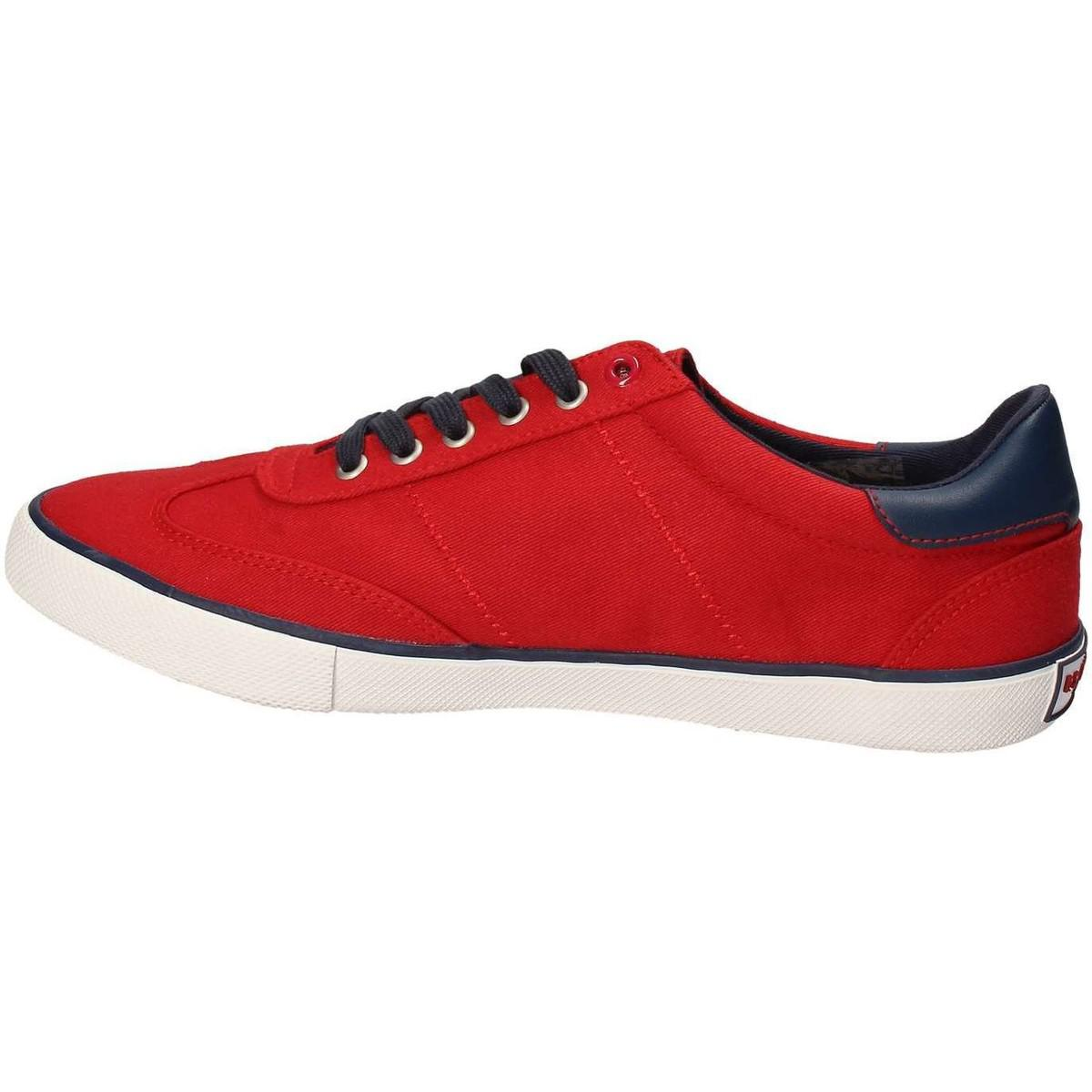 U.S. POLO ASSN. U.s. Polo Assn. Marcs4137s7/c1 Sneakers Man Red Men's Shoes (trainers) In Red for Men