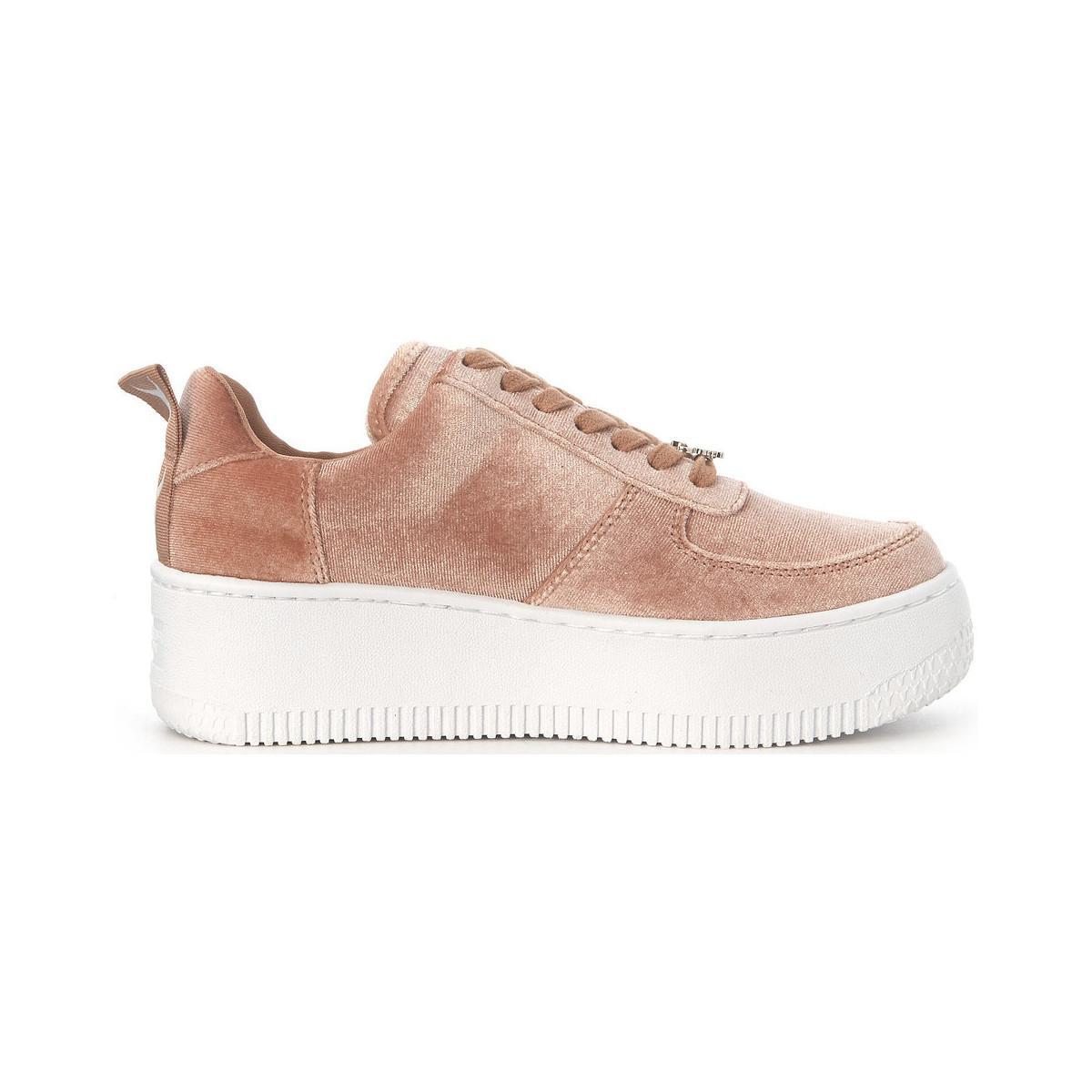 Windsor Smith Racerr Pink Suede Sneaker Men's Shoes (trainers) In Pink for Men