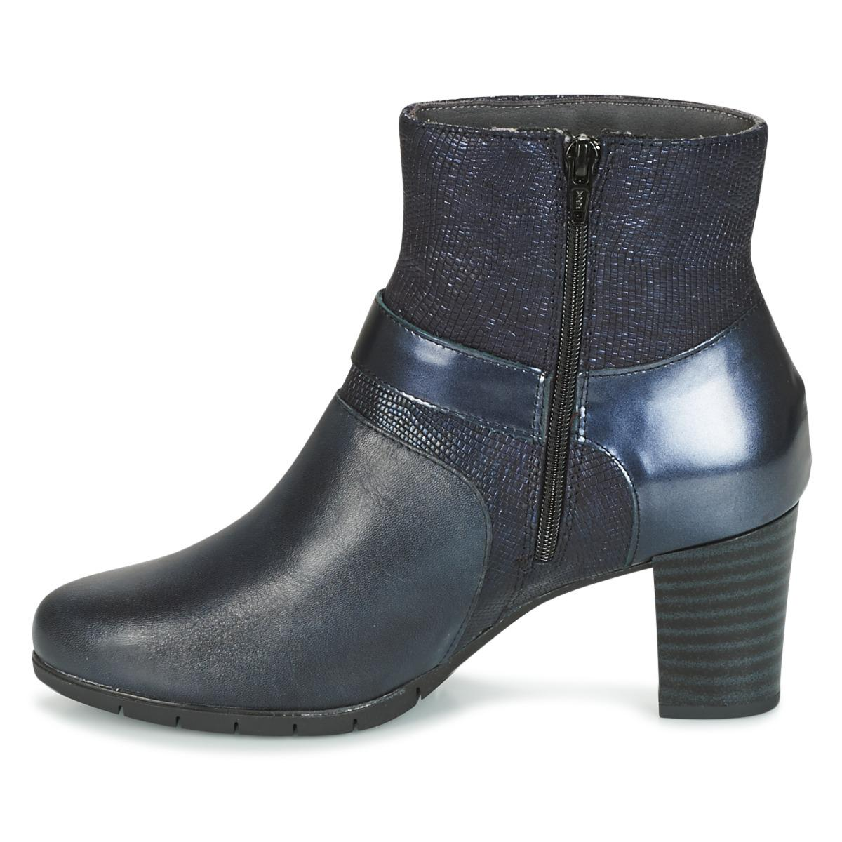 Pitillos 1279 Women's Low Ankle Boots In Blue
