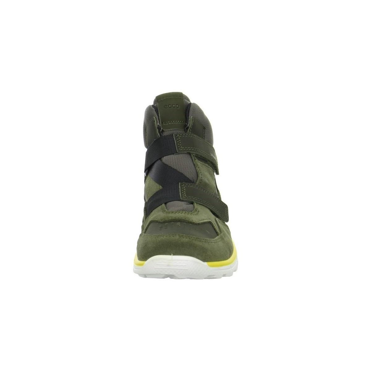 Ecco Biom Trail Kinder Women's Shoes (high-top Trainers) In Green