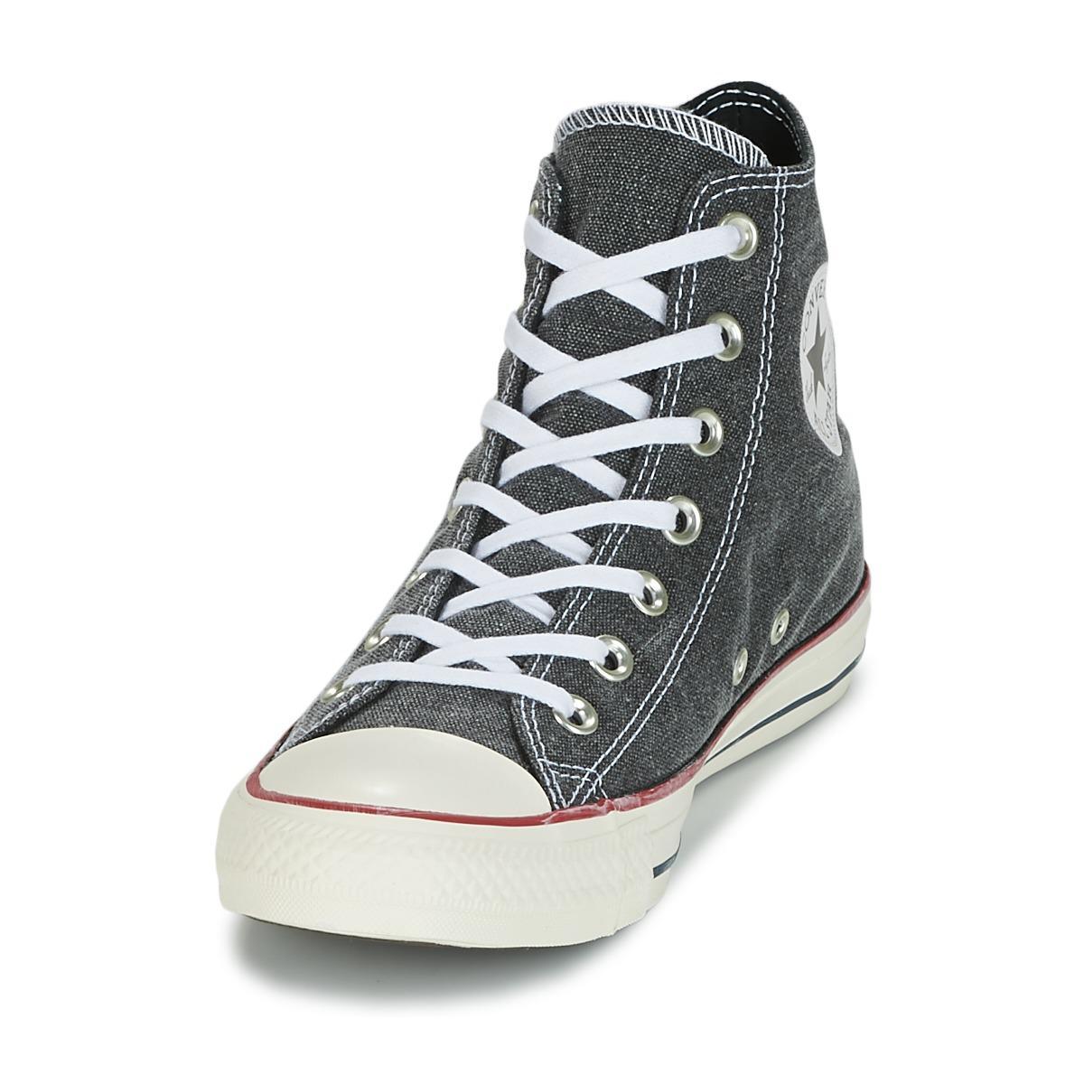 0d74c5038d7b Converse - Gray Chuck Taylor All Star Hi Stone Wash Women s Shoes (high-top.  View fullscreen