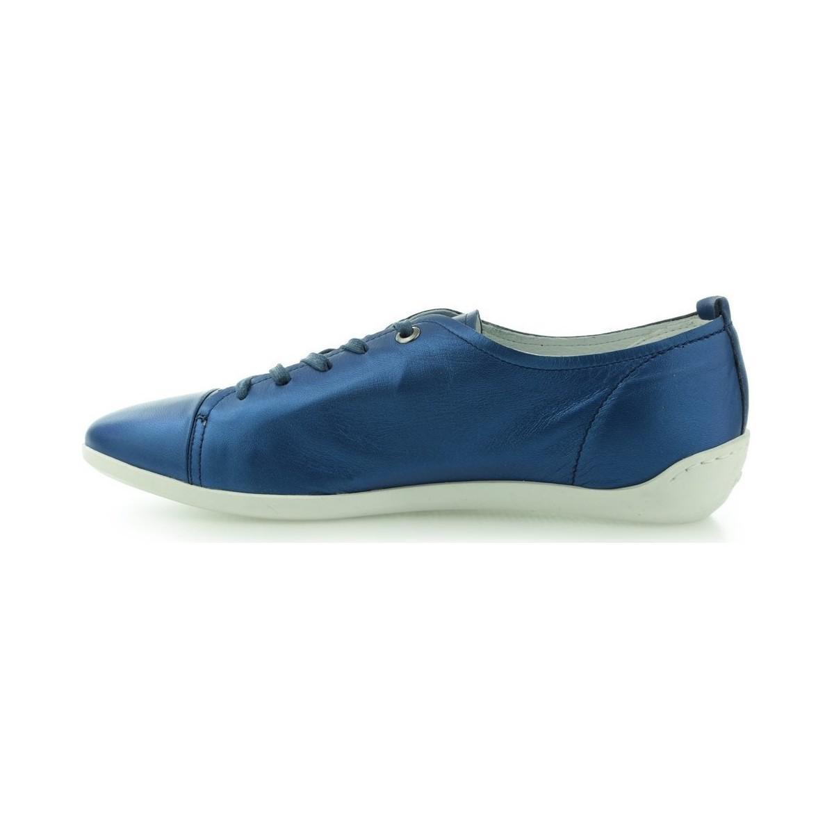 Gino Rossi Pół Elia Dpf691 Women's Shoes (trainers) In Multicolour in Blue