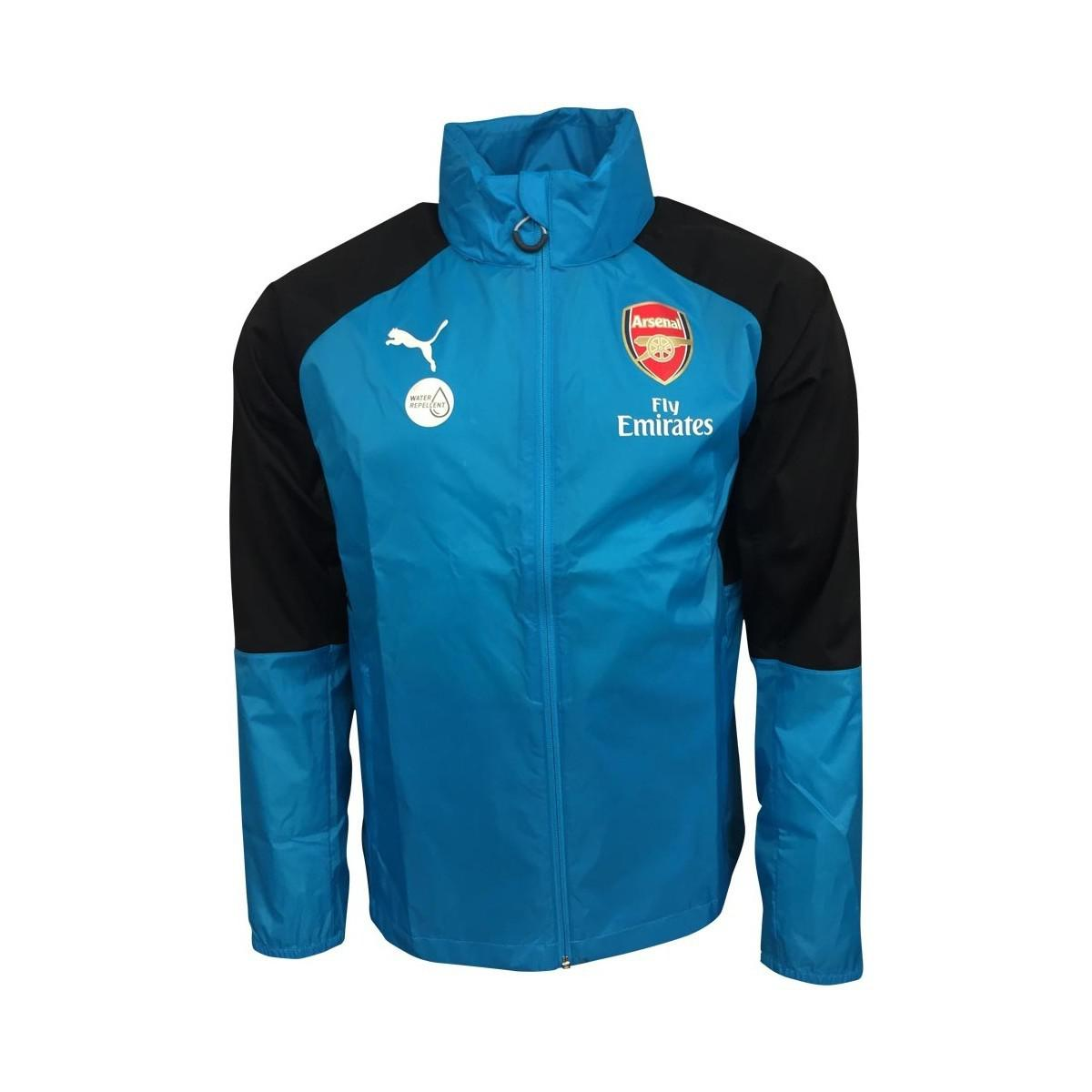 8a605803032a Puma 2017-2018 Arsenal Rain Jacket Women s In Blue in Blue for Men ...