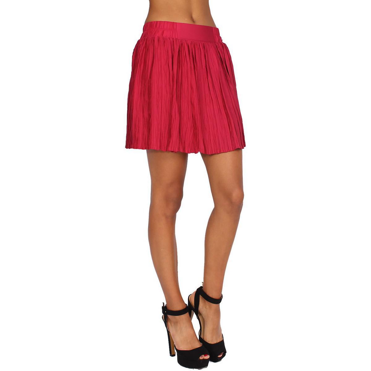 Pepe Jeans Denim Women's Skirt Sandra Women's Skirt In Red