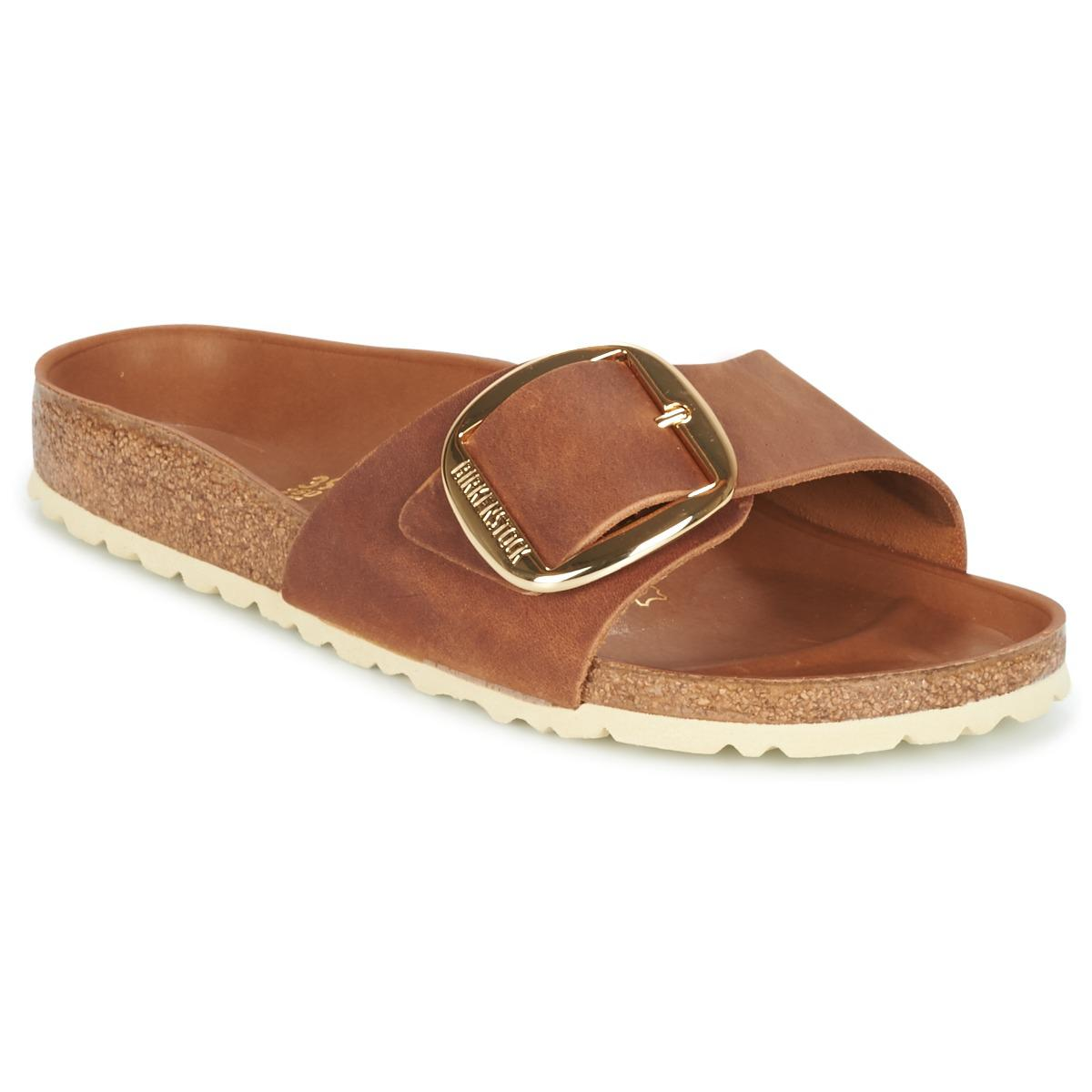 f2d5e395cce Birkenstock Madrid Big Buckle Women s Mules   Casual Shoes In Brown ...