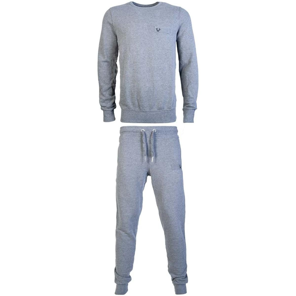 b5212534b7f True Religion Gray Tracksuit M16uf32d7g / M16uf31d7g Men's In Grey for men