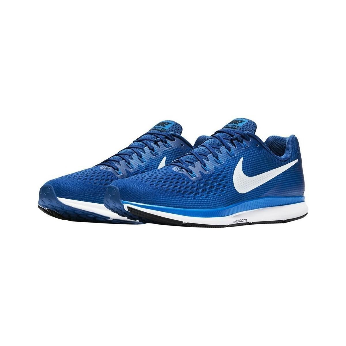 separation shoes 0c3bd 5547d Nike - Air Zoom Pegasus 34 M Men s Shoes (trainers) In Blue for Men. View  fullscreen