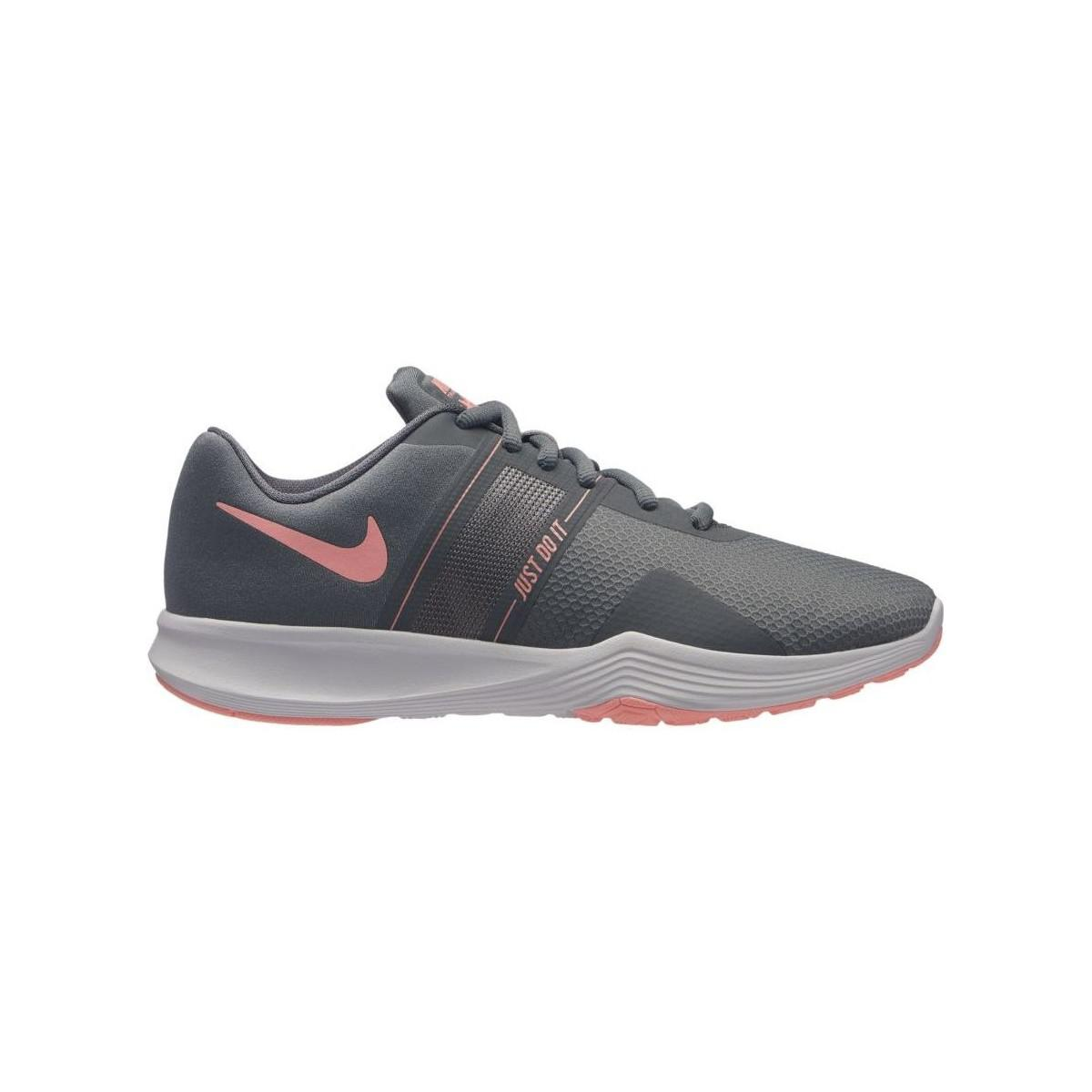 Nike City Trainer 2 Aa7775 Women s Shoes (trainers) In Grey in Gray ... 5aec532eb
