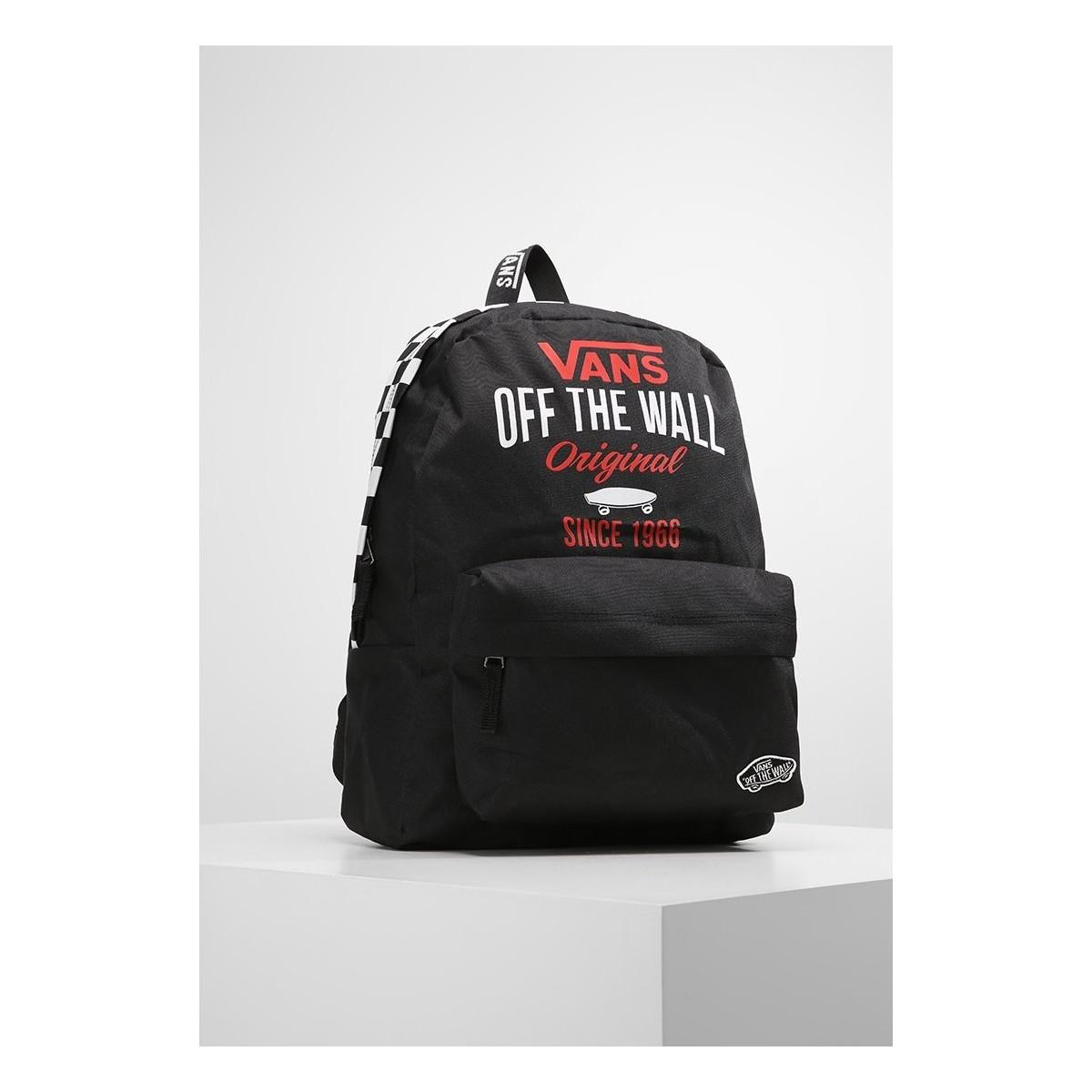 Vans Mochila Sporty Realm Backpack Women s Backpack In Black in ... d8abc43a1a6