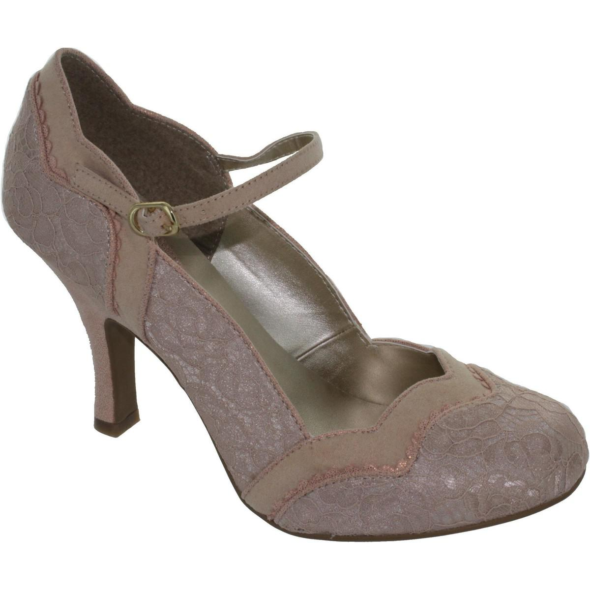 e13f19da42af Ruby Shoo Imogen Women s Court Shoes In Pink in Pink - Lyst