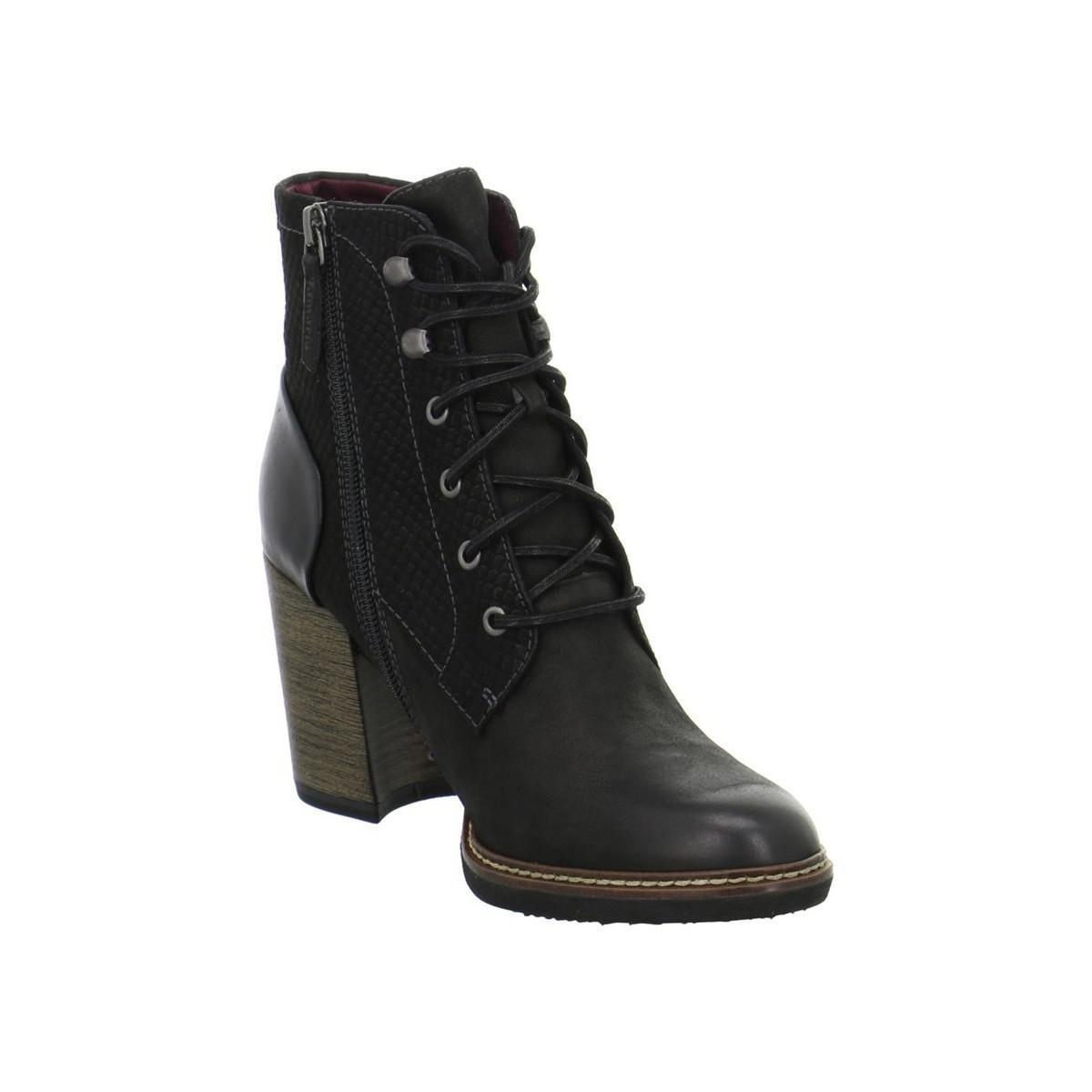 1f452c723c0 Tamaris Joly Women's Low Ankle Boots In Black - Lyst