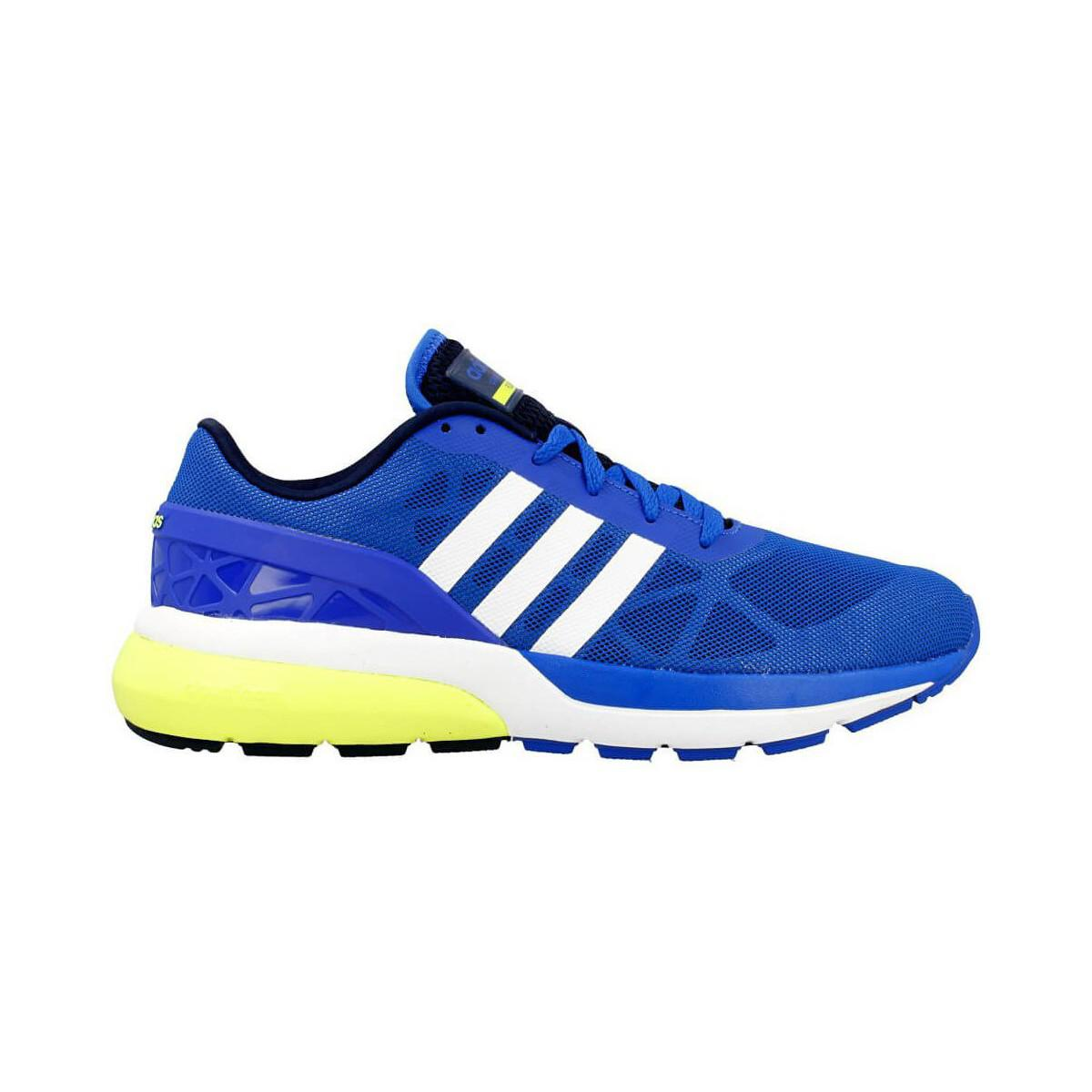 adidas Cloudfoam Flow Men's Running Trainers In Multicolour in Blue for Men
