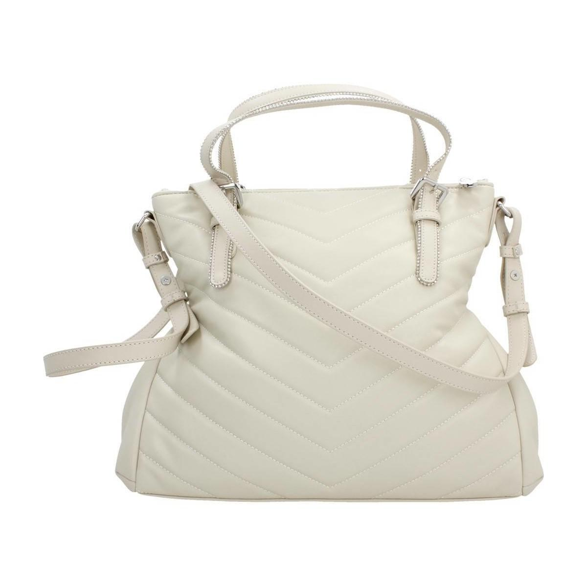 Armani Jeans Borsa Shopping Giord Women's Shopper Bag In Beige in ... 0ecb39b5b89a