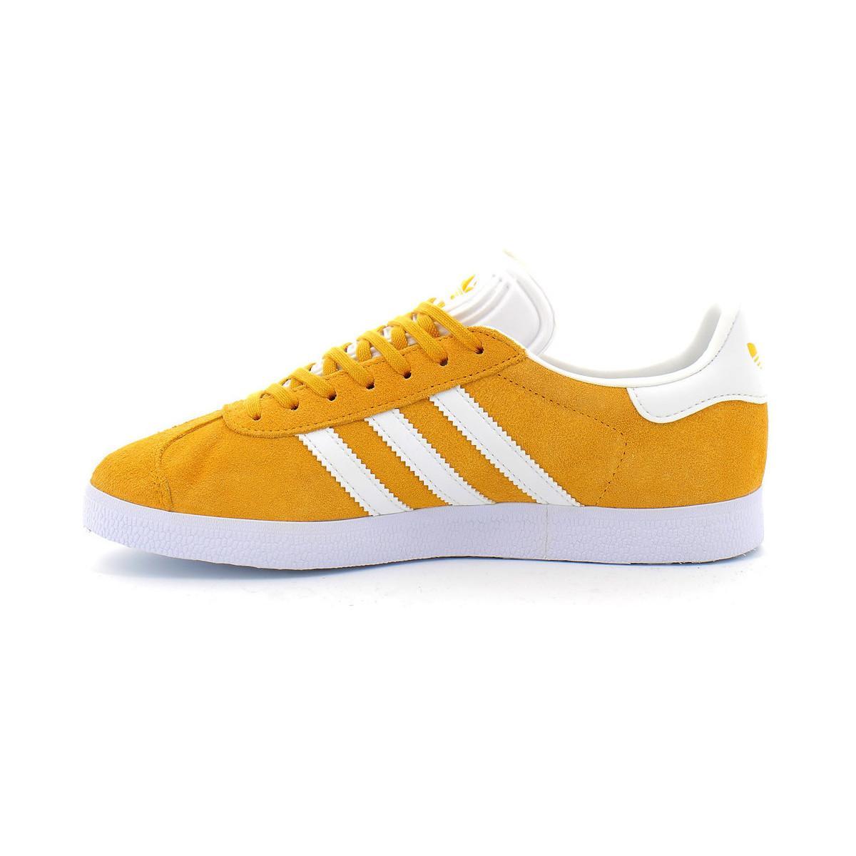 Gazelle w Baskets adidas en coloris Jaune - Lyst