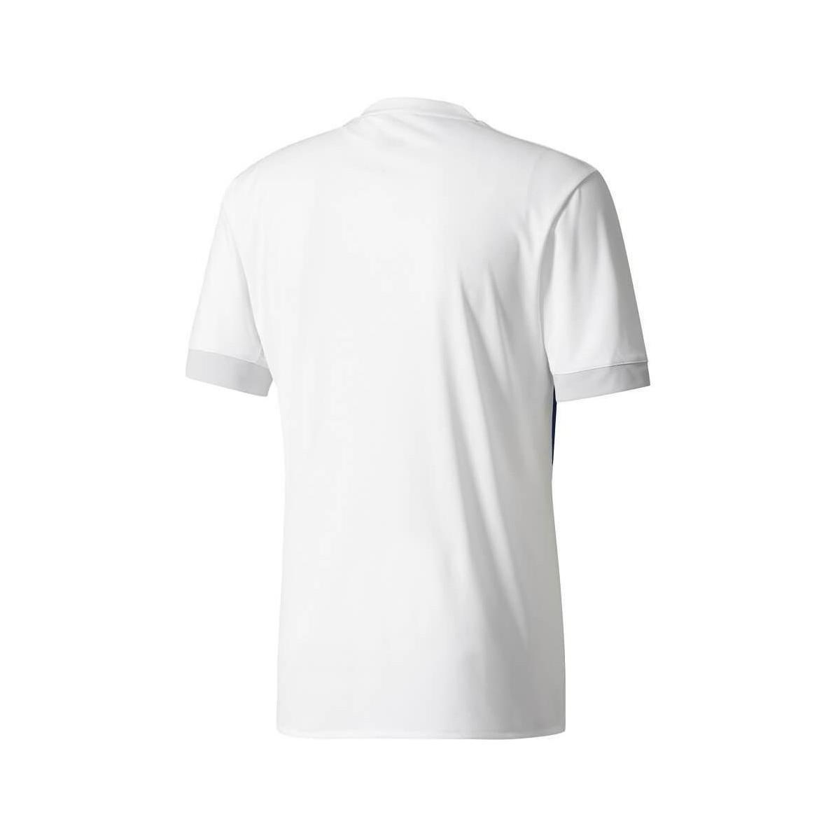 74cad3aae Adidas - 2017-2018 Olympique Lyon Home Football Shirt Women s T Shirt In  White -. View fullscreen