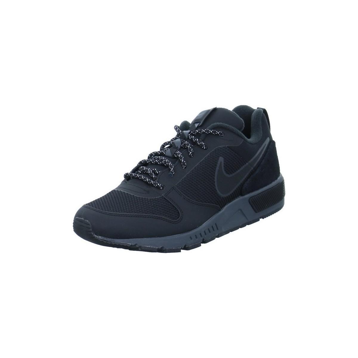 Nike Nightgazer Trail Women s Shoes (trainers) In Black in Black - Lyst e88fe322e