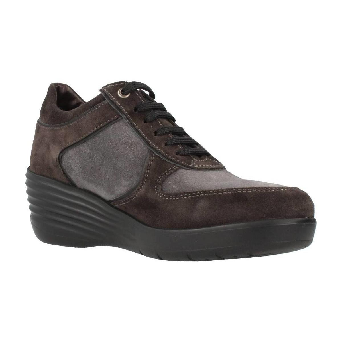 Stonefly Ebony Gore 2 Women's Shoes (trainers) In Brown
