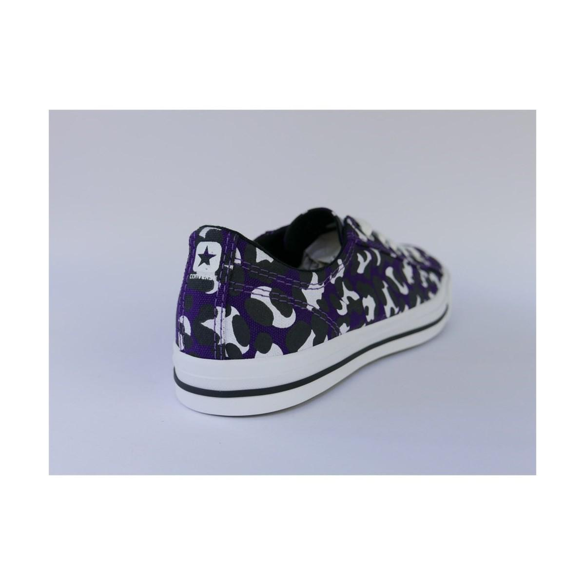 Converse Star Mimi Ox Ac Acai Black White Women's Shoes (trainers) In Black for Men