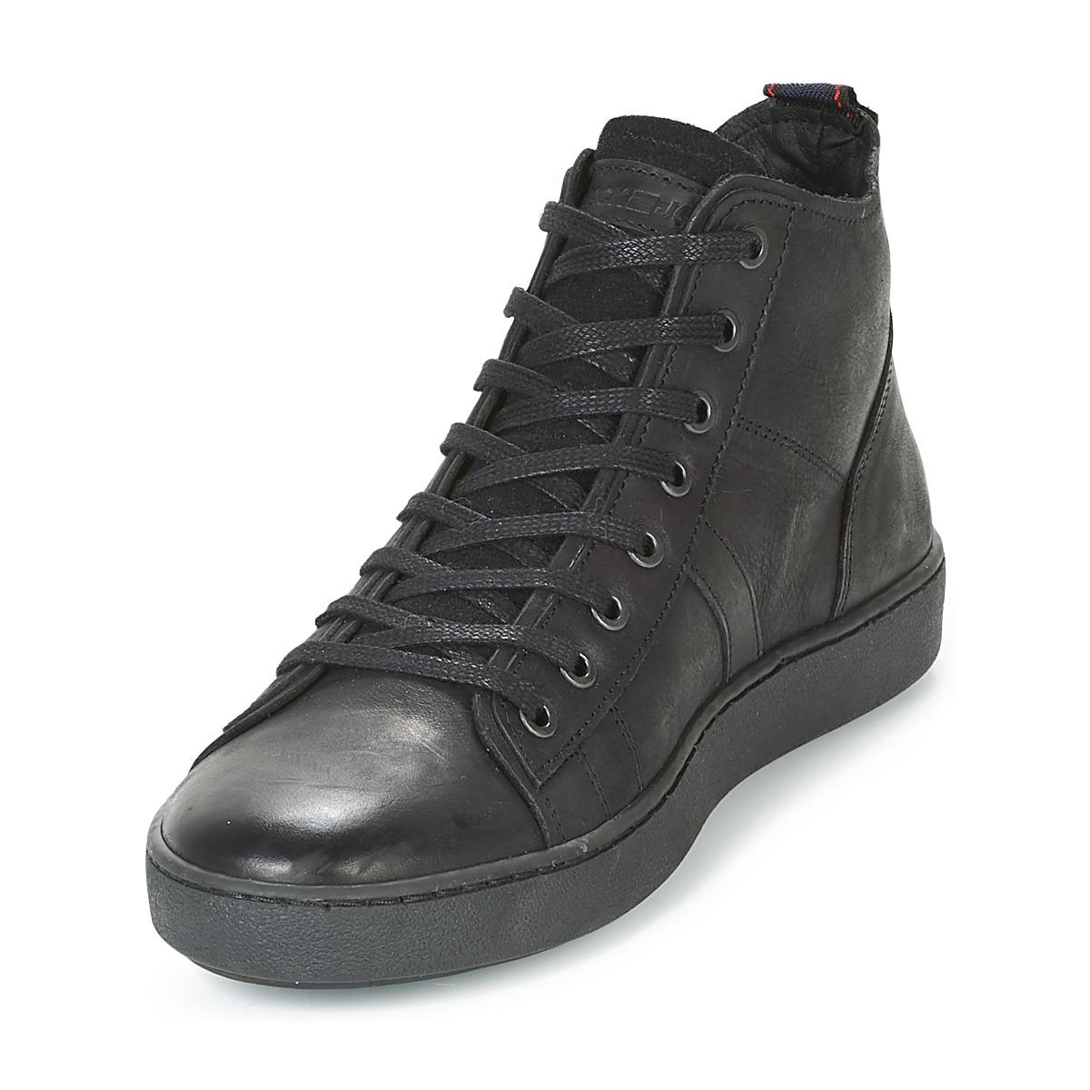 77d5669ed0 Jack & Jones Duncan Leather Ltd Men's Shoes (high-top Trainers) In ...