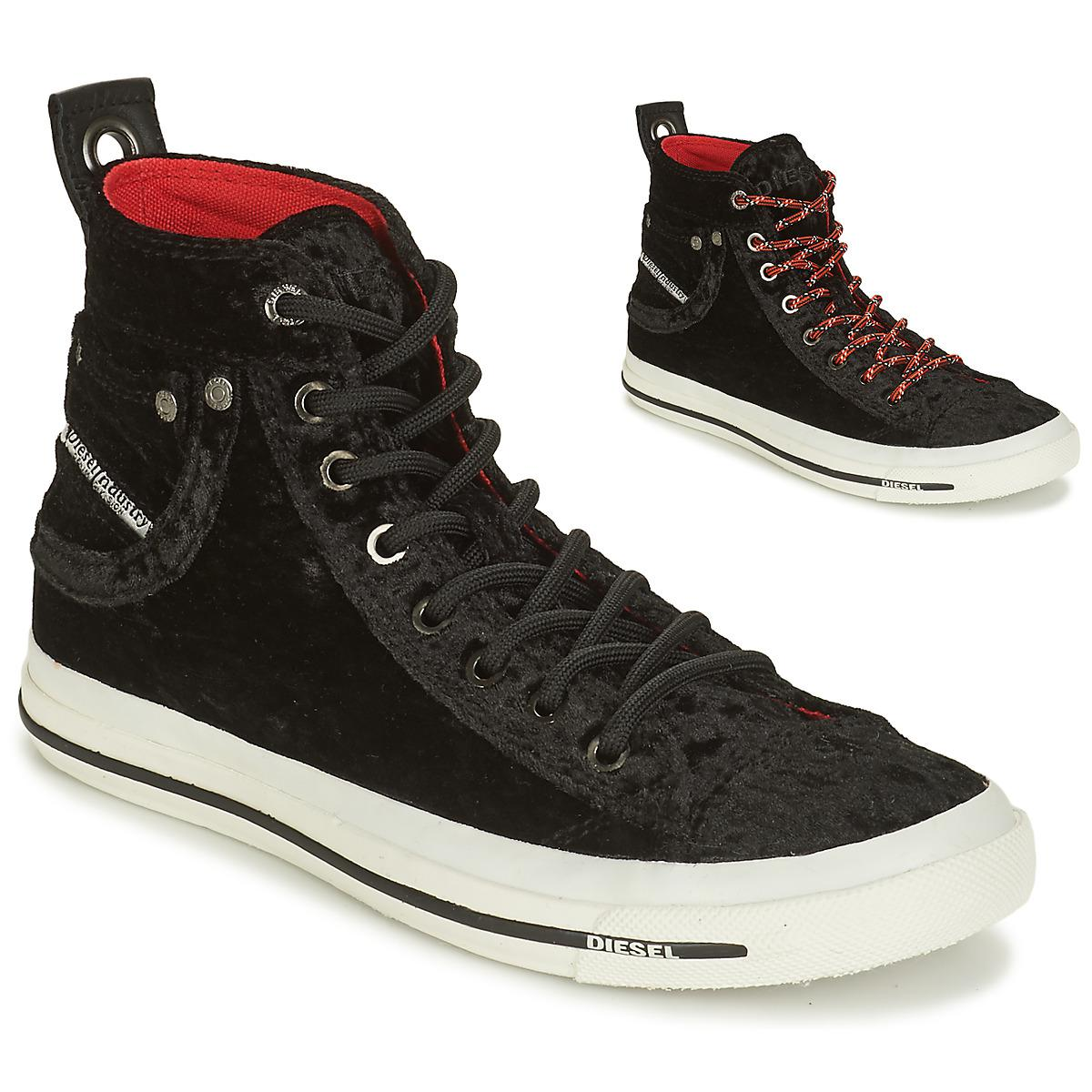 DIESEL Exposure Iv W Shoes (high-top Trainers) in Black - Lyst e2fe8d28b24