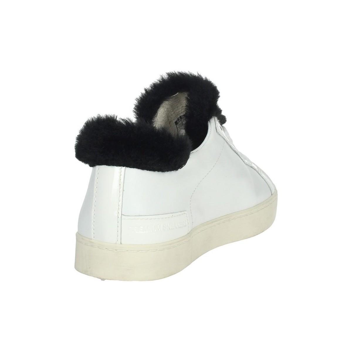 I19-11 Chaussures Date en coloris Blanc