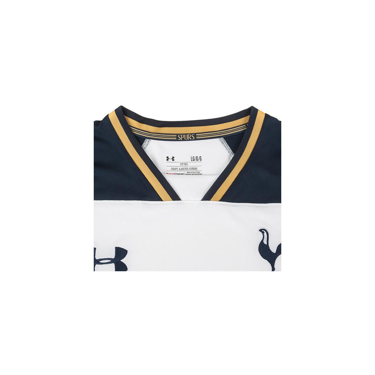 Under Armour 2016-2017 Tottenham Home Football Shirt Women s T Shirt ... f131a9c686