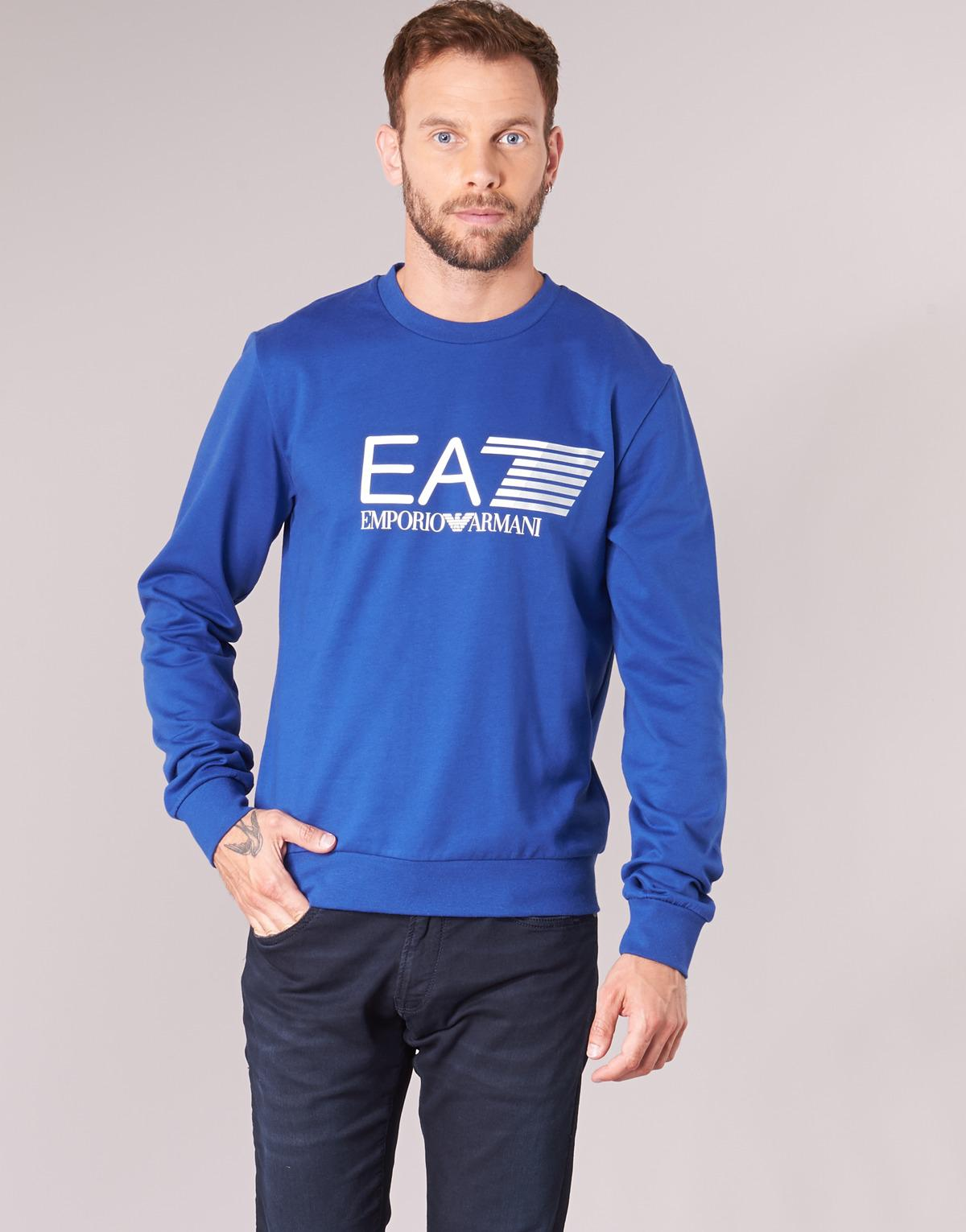 EA7 Train Visibility 3zpm60 Men's Sweatshirt In Blue for Men