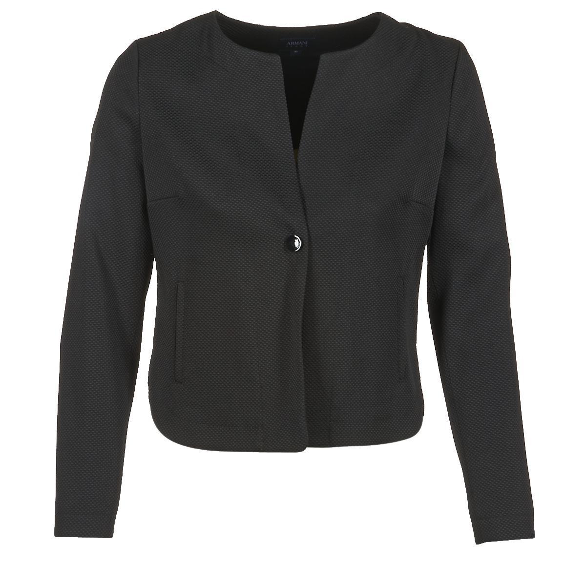 90a5df34 armani-jeans-black-Fraberga-Womens-Jacket-In-Black.jpeg