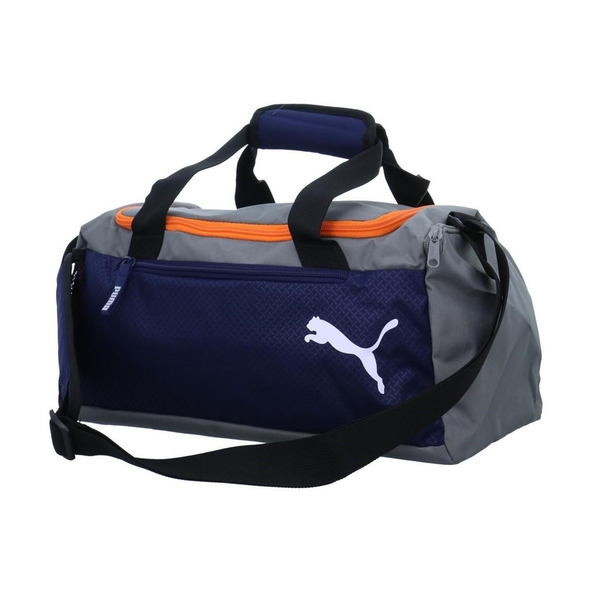1e43f32165c PUMA Fundamentals Sports Women's Sports Bag In Blue in Blue for Men ...