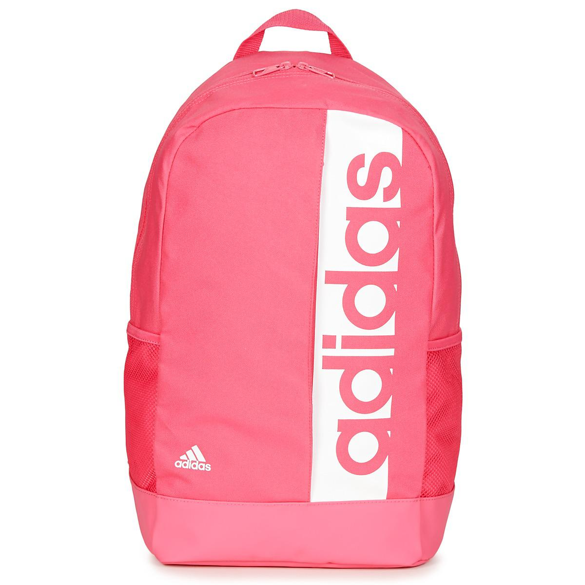 adidas Lin Per Bp Backpack in Pink for Men - Lyst 6330531cd03f4