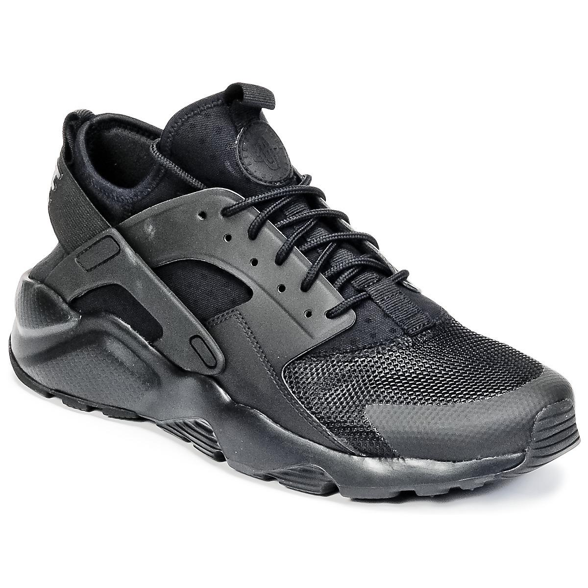 lowest price 80893 d8726 Nike - Air Huarache Run Ultra Men s Shoes (trainers) In Black for Men -. View  fullscreen
