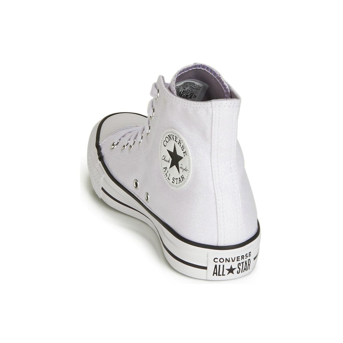 CHUCK TAYLOR ALL STAR HI Chaussures Converse en coloris Blanc
