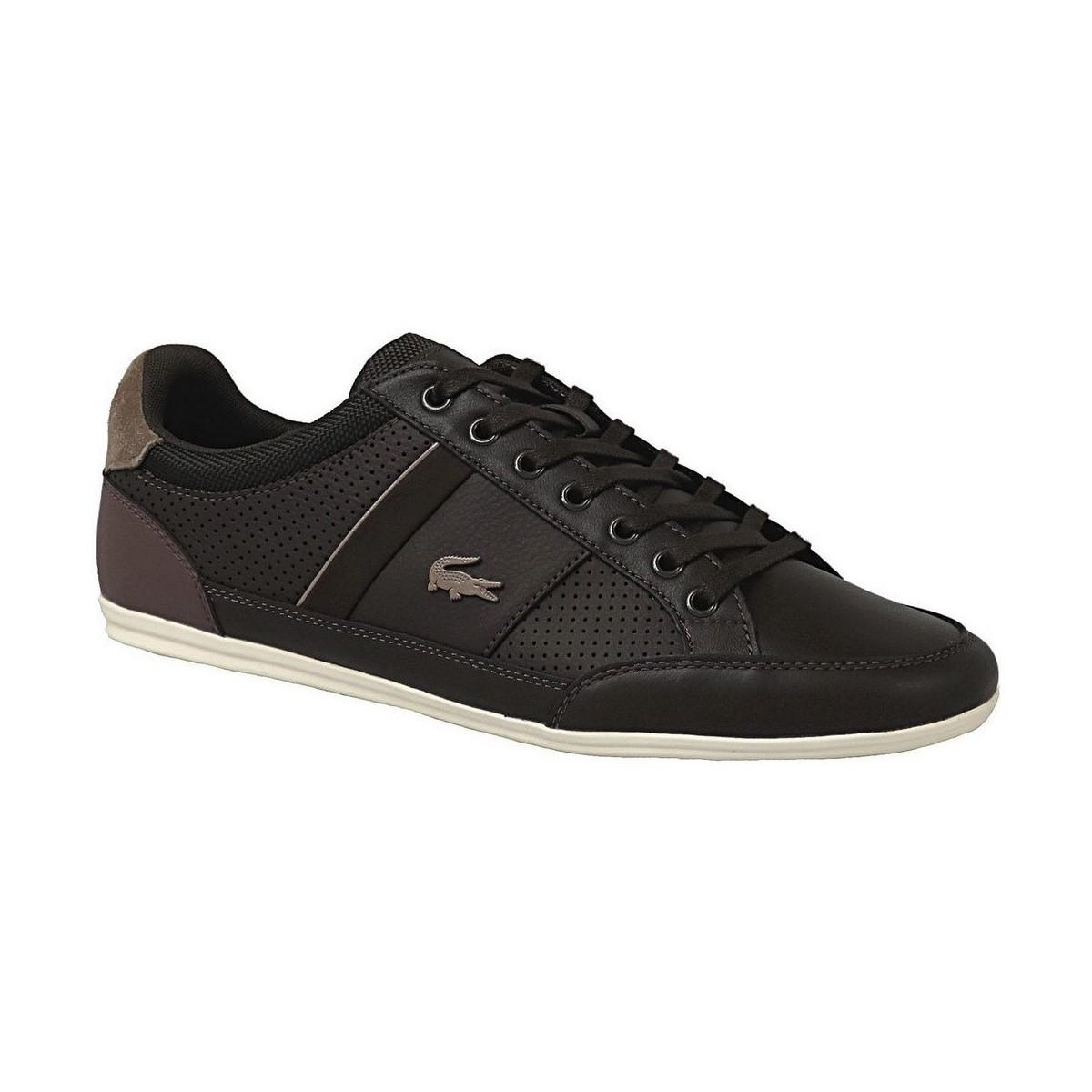 c7850f5a Lacoste Chaymon 117 1 Men's Shoes (trainers) In Brown for Men - Lyst