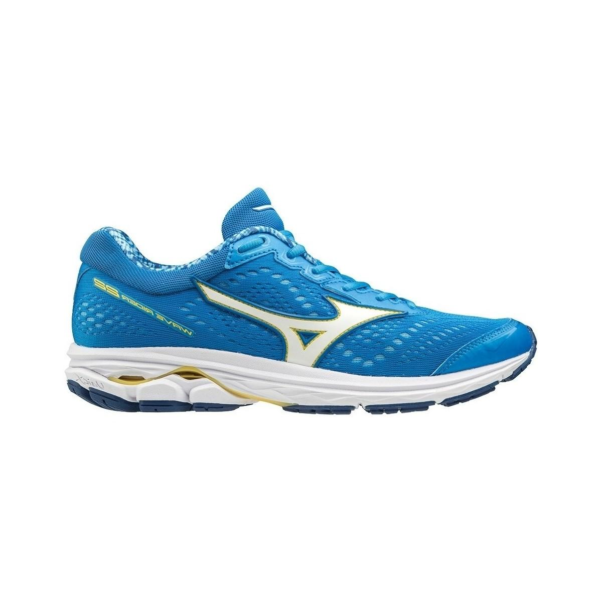 797797599dc4 Mizuno Wave Rider 22 Women's Shoes (trainers) In Blue in Blue - Lyst