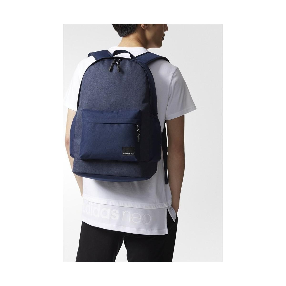 adidas Bp Daily Xl Men s Backpack In Multicolour in Blue for Men - Lyst 9439276e74f9c