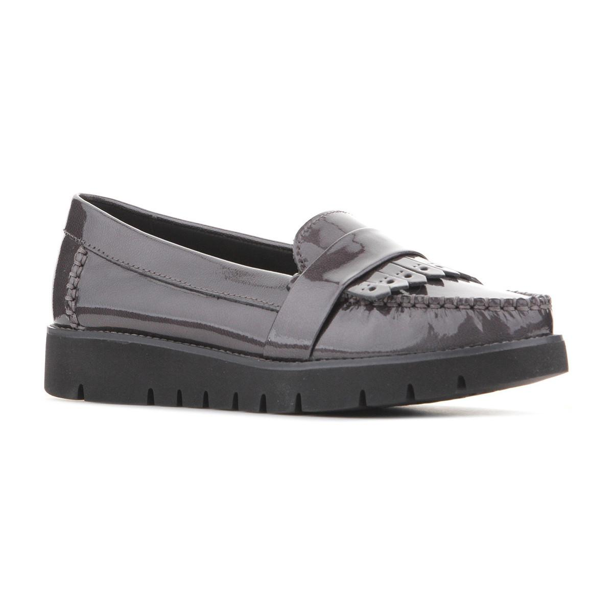 banjo cueva borde  Geox Leather D Blenda C D640bc-000ev-c9002 Women's Casual Shoes In Grey in  Gray - Lyst