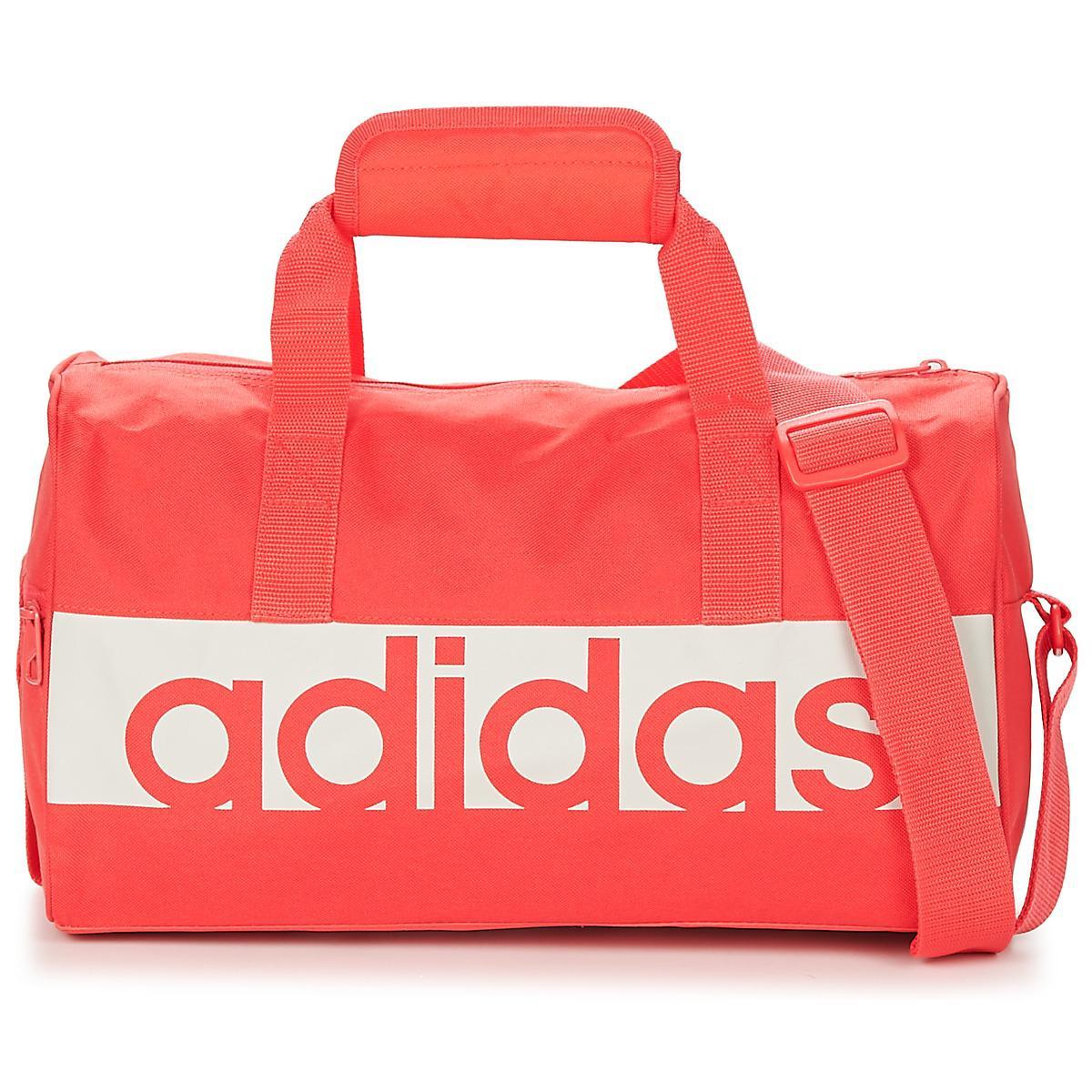 513238d3da14 adidas Linear Teambag Extrasmall Women's Sports Bag In Pink - Lyst