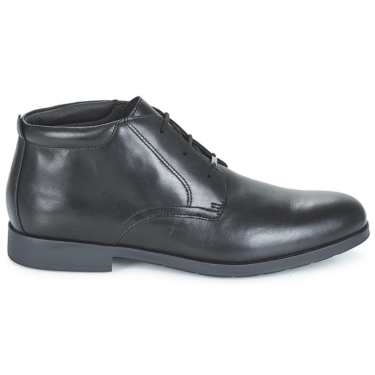 Black Mid Black Hilstone Wide In in Geox U Boots Men's A Men Np for g1YnzUPwq