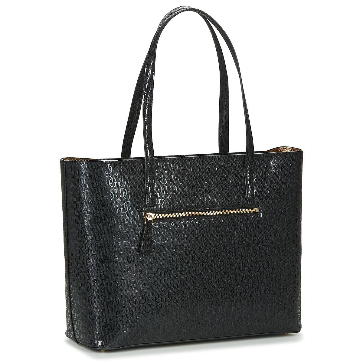 Guess Jayne Tote Women's Shopper Bag In Black