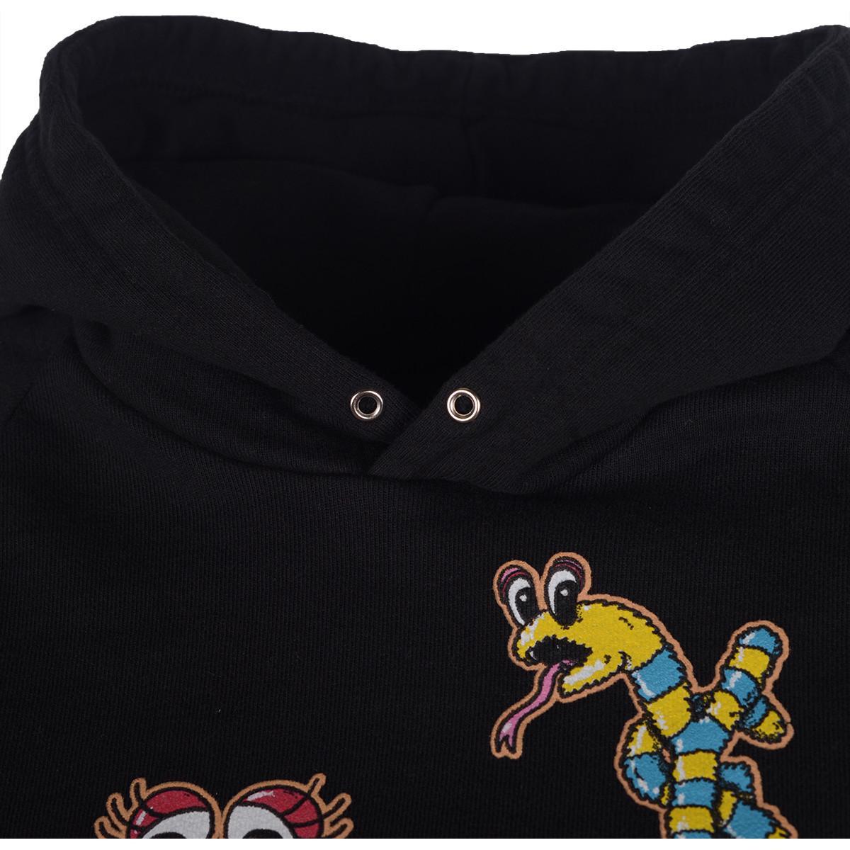 Sweat-shirt DOMREBEL en coloris Noir