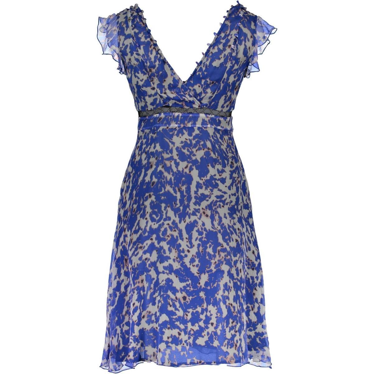 72G7388328Z femmes Robe en bleu Guess en coloris Bleu