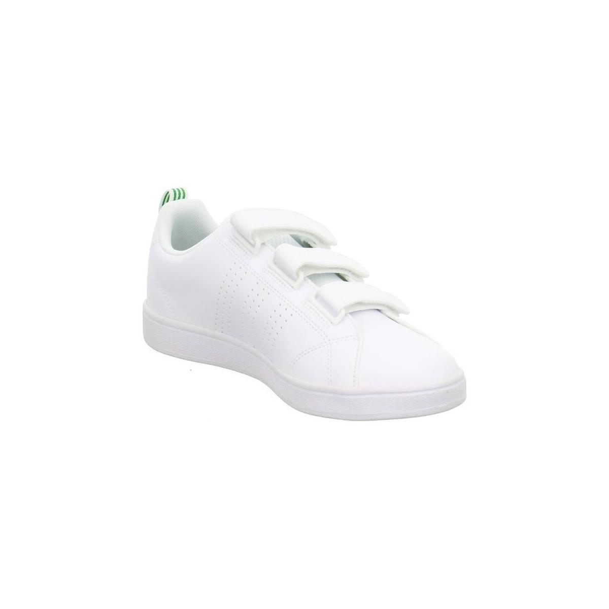 adidas Originals Vs Advantage Clean Men's Shoes (trainers) In White for Men